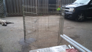 Pet pen , on about 4ft high  6ft around $50