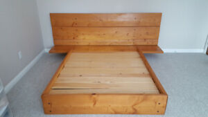 Solid Wood (Double) Bed