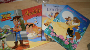 "6 Disney 8""x 11"" books"