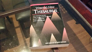 Webster's New Thesaurus