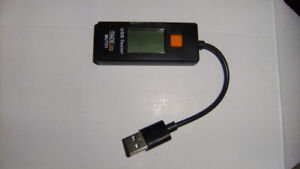 Digital LCD USB Voltage Current Meter. NEW sc