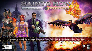 Trading for Xbox One Games - My COD Ghosts, Saints Row 4