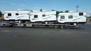 RV, Camper, Trailer transport from Indiana.
