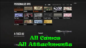 Bo2 Ps3 Modded Accounts/Recovers/All Unlock/Any level