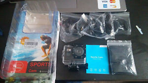 NEW !!! 12MP 1080P ACTION CAM WITH ACC