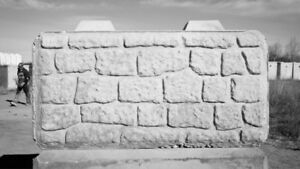 Wanted Large Concrete Blocks for a Retaining Wall -LEGO