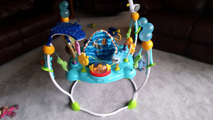 Bright stars Jumper and Bumbo chair