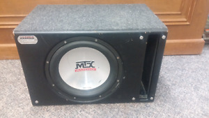"Car Subwoofer MTX Sledge Hammer 12"" Sub $60 FIRM"