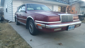 1988 Chrysler New Yorker LOW KMS!!!!
