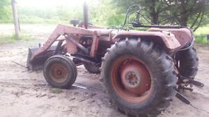 885 david brown loader tractor