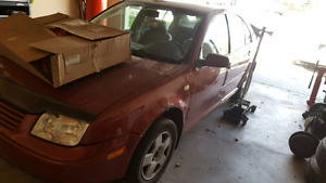 2001 Volkswagen Jetta GLS TDI part out or whole
