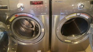 Samsung steam washer and dryer