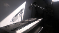 Piano, composition, mixing