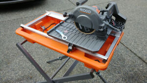 Tile saw Rigid.    Brand New