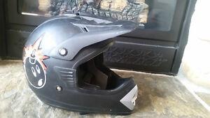 Helmet Dirt bike motocross enduro size l