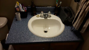 Vanity top and sink for sale