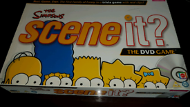 """The Simpsons """"Scene It"""" DVD Board Game"""