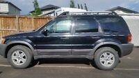 2003 Ford Escape black SUV, Crossover