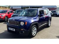 2017 Jeep Renegade 1.6 Multijet Longitude 5dr Manual Diesel Hatchback