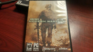 COD MODERN WARFARE 2 TWO DISK SET