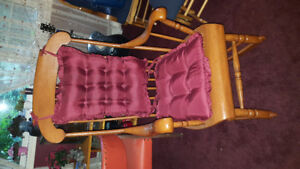 Selling: Wooden Rocking Chair