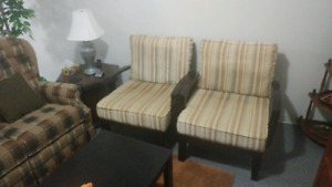 2 sofa chairs. Mint condition