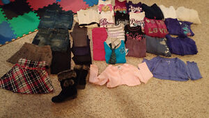 Girls size 7/8 fall clothing