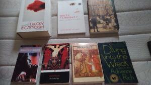 Textbooks/Books (price varies)