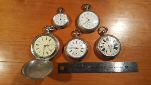 Antique Silver Pocket Watches