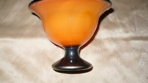 VINTAGE GORGEOUS HAND CRAFTED & SIGNED GLASS COMPOTE Kitchener / Waterloo Kitchener Area image 5