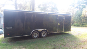 2007 Haulmark 24' x 8.5' Enclosed Cargo Trailer