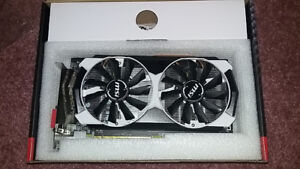 MSI R9 380 ArmorX 4GB Graphics/Video Card