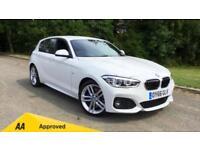 2016 BMW 1 Series 125d M Sport 5dr (Nav) Step Au Automatic Diesel Hatchback