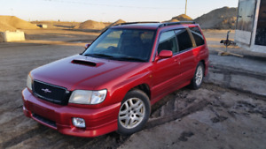 CLEAN 2001 JDM Subaru Forester SF5 for sale or trade