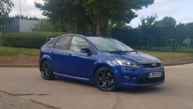 2008 FORD FOCUS ST-3 + FACELIFT + HEATED LEATHERS + 1 YEAR MOT