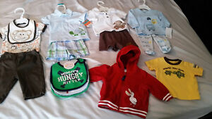 3-Month Size Baby Clothes in New Condition - $42 for all