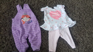 Baby girl size 3 month clothing for sale