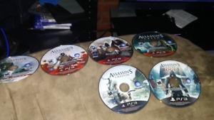 Assassins Creed Ps3 Collection and Figures