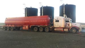 Tridrive and tridem 44m3 tanker