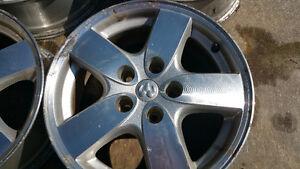 "Set of four 16"" Dodge Alloy Wheels. 5x4.5... $100."