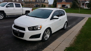 2012 Chevrolet Sonic Hatchback Automatic