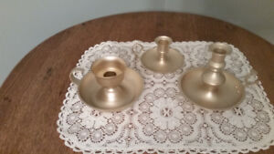 Antique Chamberstick Candle Holder