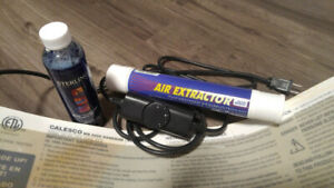WaterBed Heater, Water Conditioner and Air Extractor...