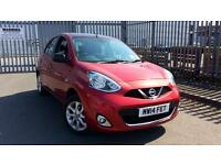 2014 Nissan Micra 1.2 Acenta Limited Edition 5dr Manual Petrol Hatchback