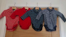 Bundle of boys clothes age 0-3 months