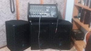 800 WATT Yorkville sound system for sale