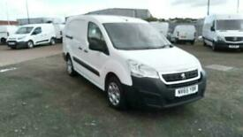 Peugeot Partner 715 S 1.6 Hdi 92 Crew Van DIESEL MANUAL WHITE (2016)