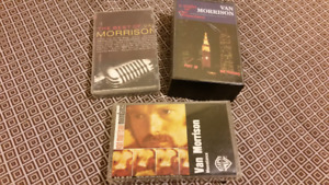 Van Morrison audio cassette tapes