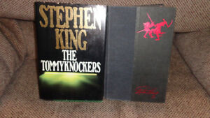 LOT OF 6 BOOKS STEPHEN KING DALE BROWN VINCE FLYNN ROBERT LUDLUM