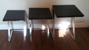 Designer Nesting Table Set